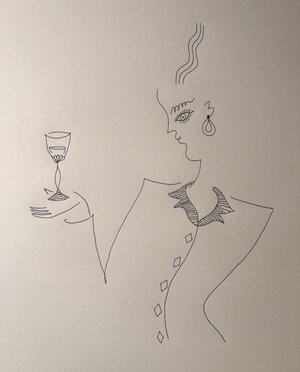 Drawing   by Blanca Miró Skoudy