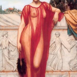 Athenais   by John William Godward