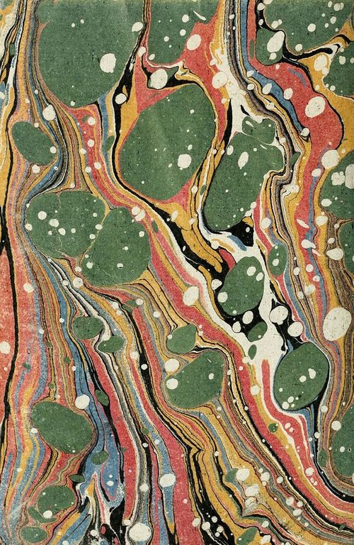 Ancient Marbled Paper