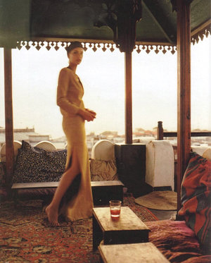 Photo   from Elle Magazine, 1996 in Morocco