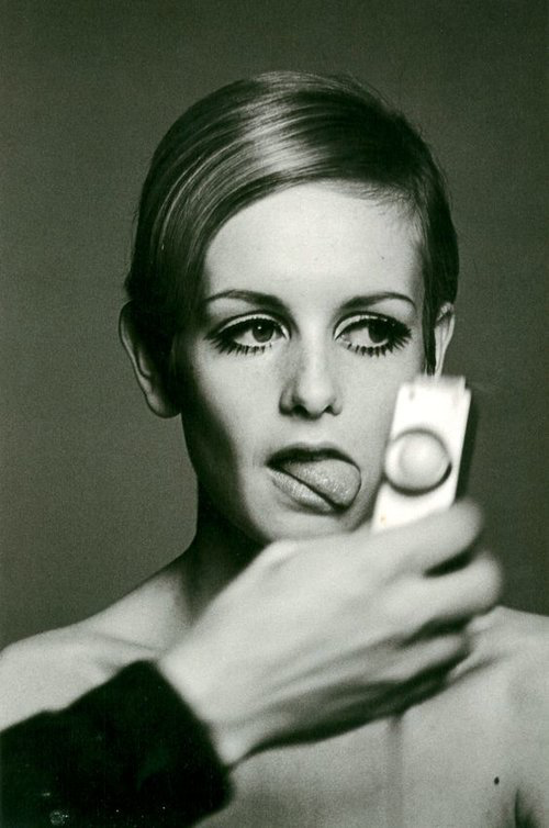 Twiggy   by Burt Glinn, 1966