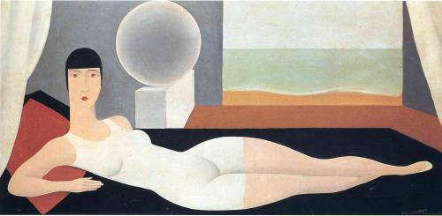 Bather   by René Magritte, 1925