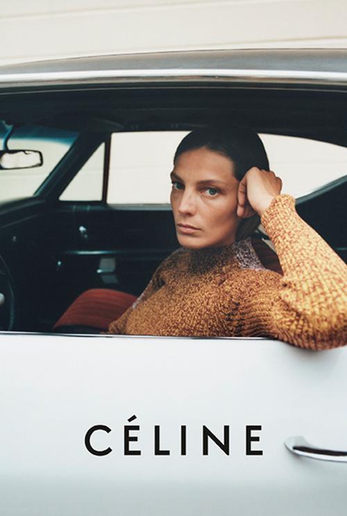 Céline Spring '15   by Juergen Teller