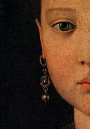 Portrait of Maria de' Medici  by Agnelo Bronzino, 1551