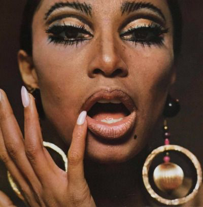 Donyale Luna   by Charlotte March for Twen magazine, 1966