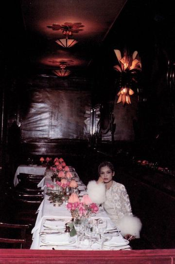 Bianca Jagger   by Eric Boman for Vogue UK