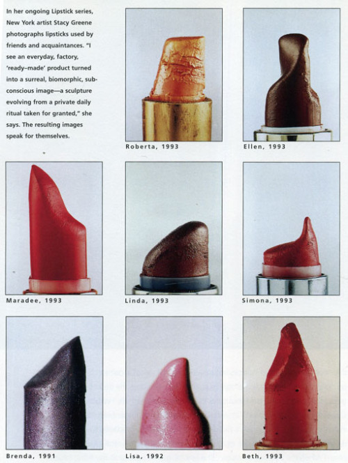 Lipstick ad   from Playboy