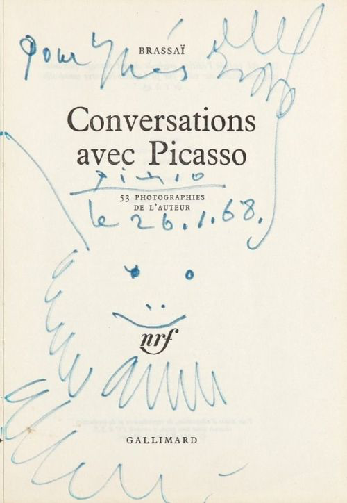 Conversations avec Picasso   by Brassai