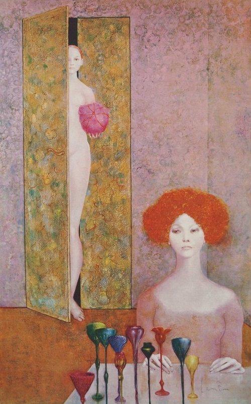 La Fete Secrete  by Leonor Fini