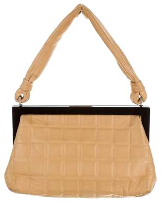 CHANEL  // CHOCOLATE BAR FRAME BAG