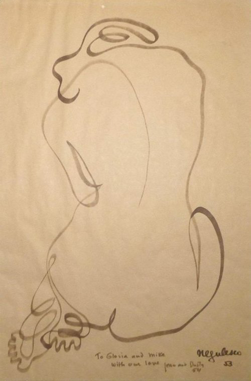 Back of Nude  by Jean Negulesc   1953.