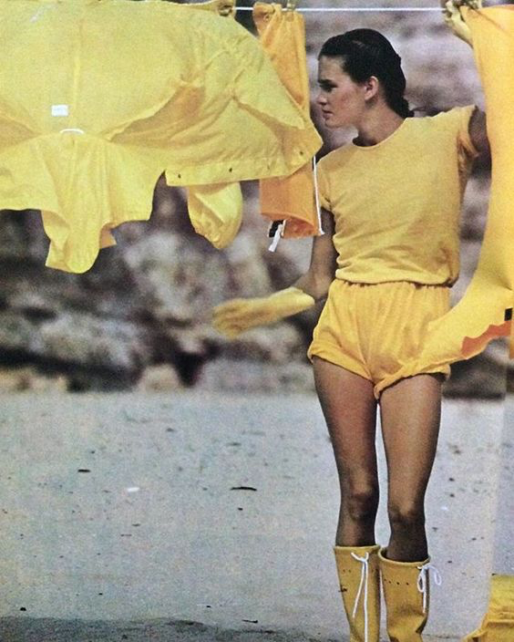 Albert Watson in the Algarve for Vogue , February 1978