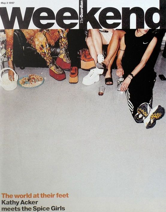 Weekend Magazine Cover featuring Spice Girls, May 3, 1997