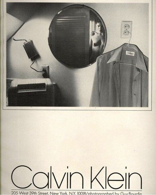 Calvin Klein AW 1975. Photographed by Guy Bourdin
