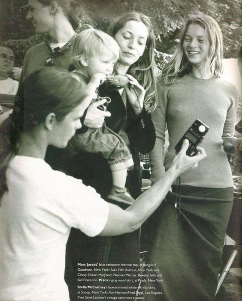 Vintage Magazine Ad featuring Kate Moss