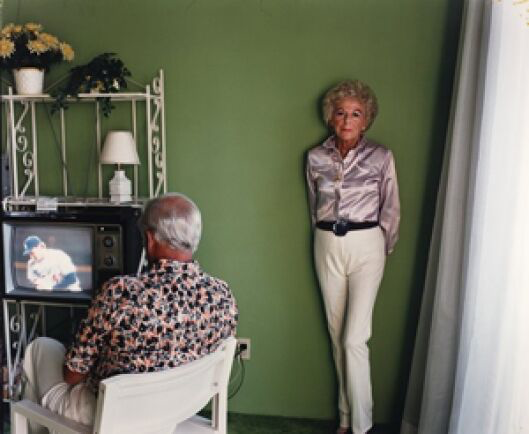 Photo  Larry Sultan, My Mother Posing For Me, 1984