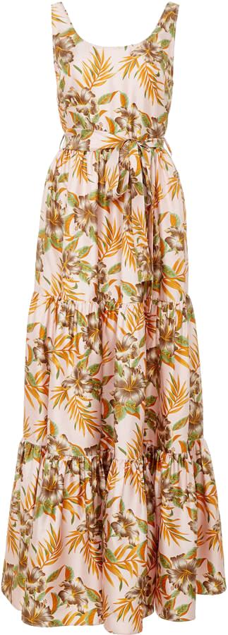 LA DOUBLEJ  // SUMMER BELTED MAXI DRESS