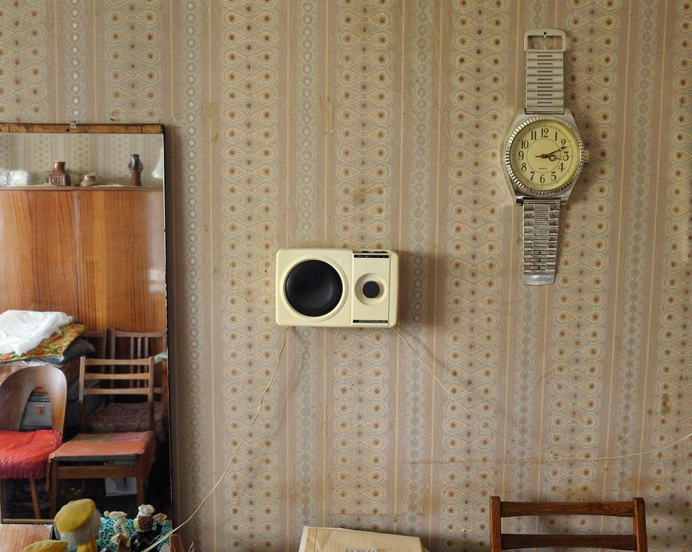 Stephen Shore, Rakhil Rusakovskaya's Apartment, Kiev, Ukraine, July 28, 2012