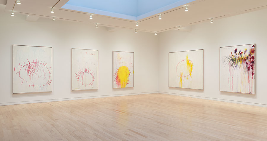 Cy Twombly, Coronation of Sesostris.  Photo by Rob McKeever.