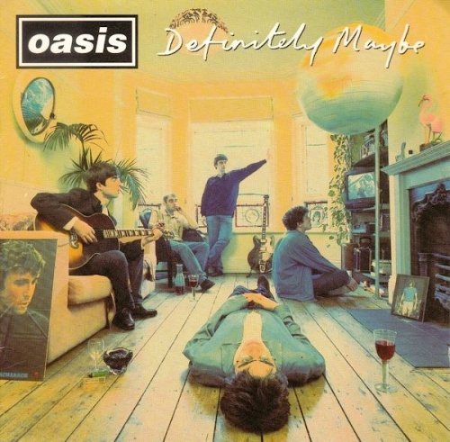 Album  Oasis - Definitely Maybe