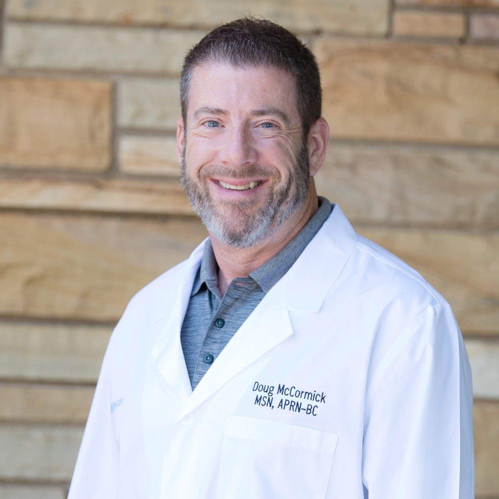 Doug McCormick, Medical Director