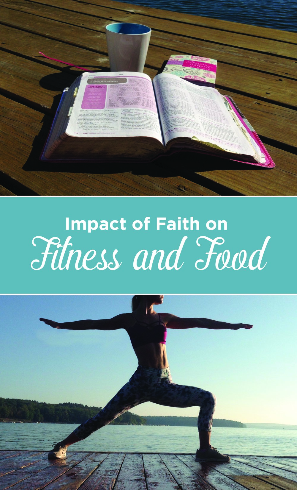 Faith impacts how we treat our body. That means working out and eating well are worship to the Lord. Use your body well and challenge it.