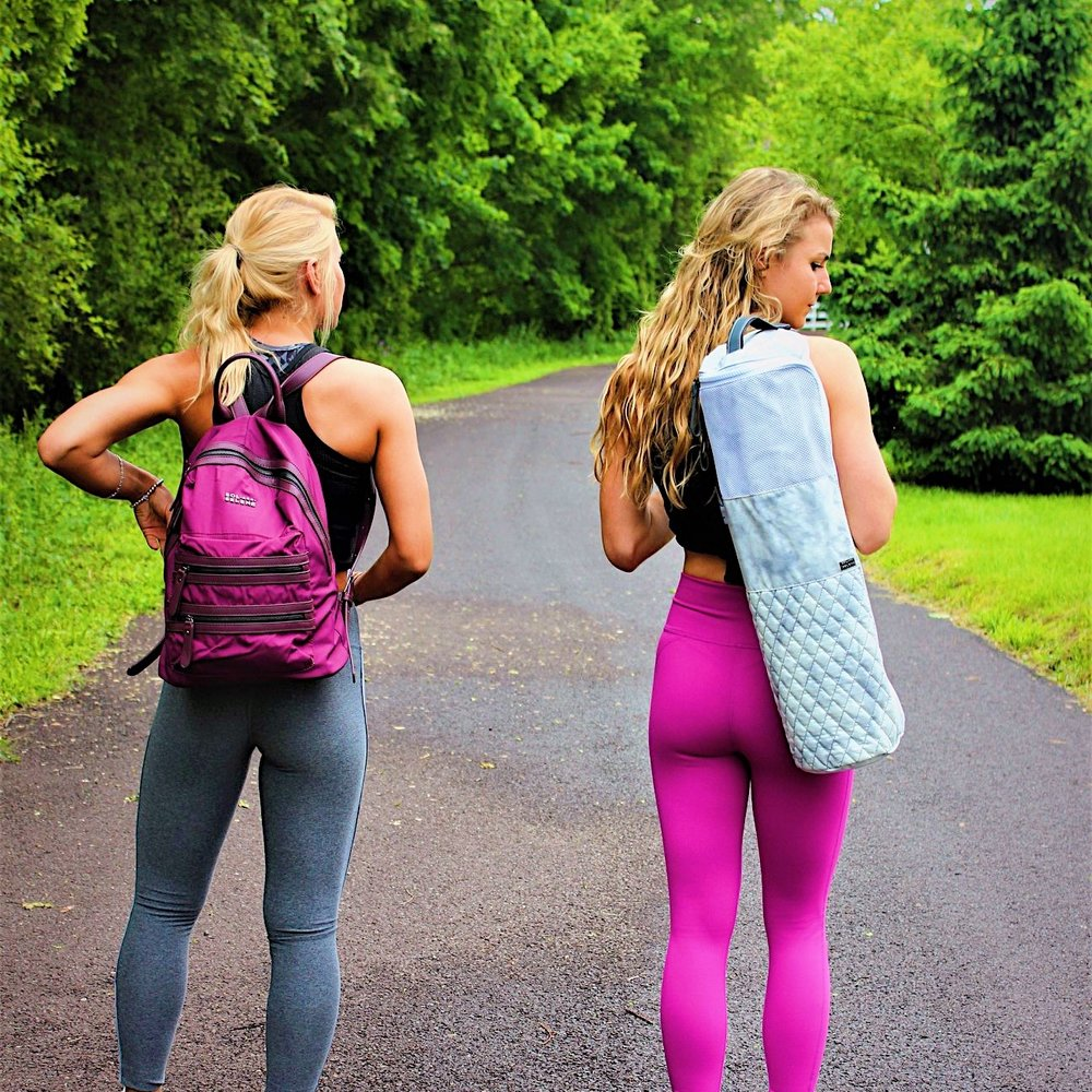 Sol & Selene discount code for athletic and gym bags, backpacks, yoga mat bags and more.