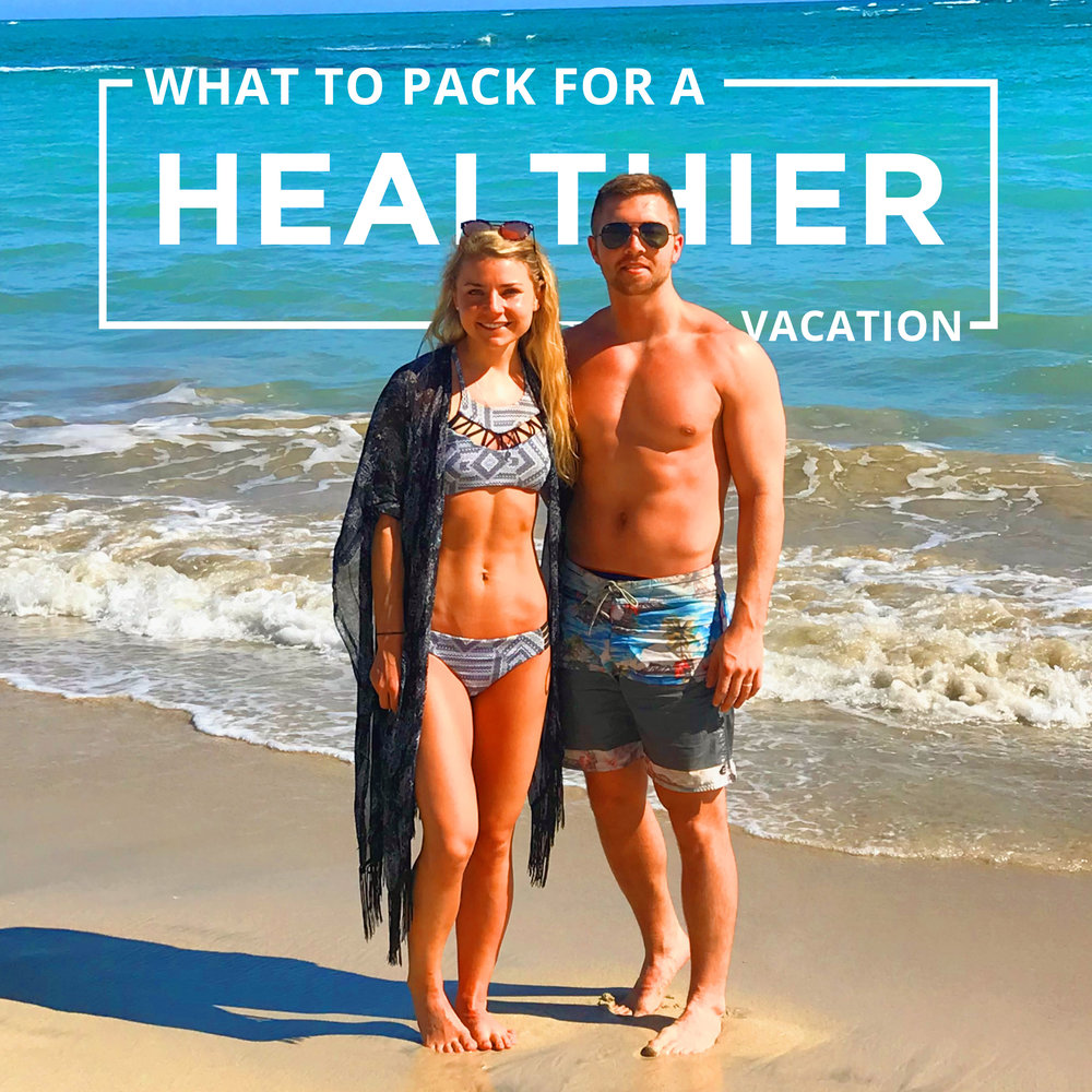 I have been traveling a lot lately and found my top 5 practical things to pack for vacation to make it a healthier experience overall. These simple things make all the difference!