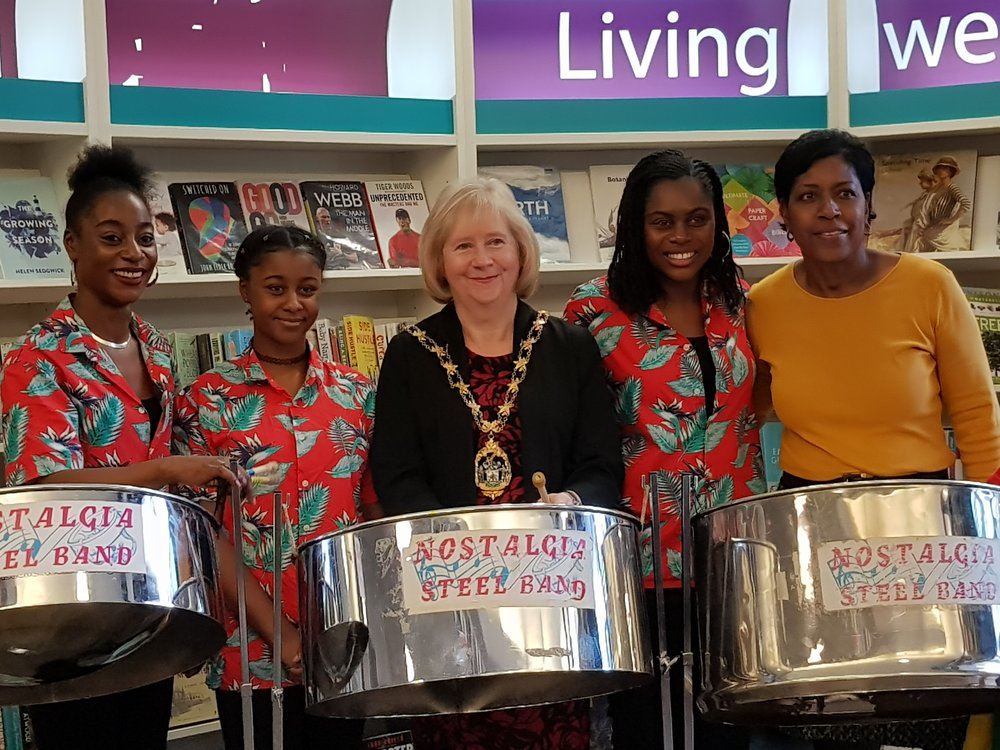 Steel Band and Mayor.jpg