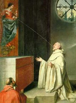 Alfonso Cano, the Vision of St. Bernard, 1650