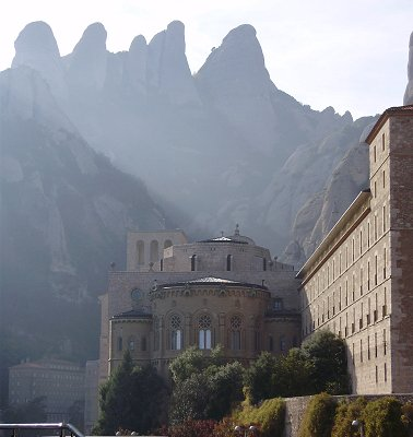 Her church with surrounding monastery and hotels. Photo: Ella Rozett