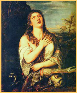 """Penitent St. Mary Magdalene"" by Titian"