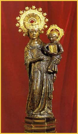 the Mother of God of  Lluc