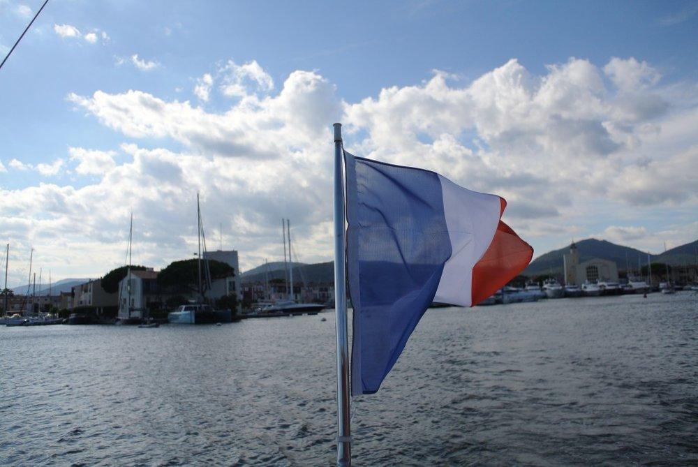 Det å feriere i Frankrike. Foto: Anniken England