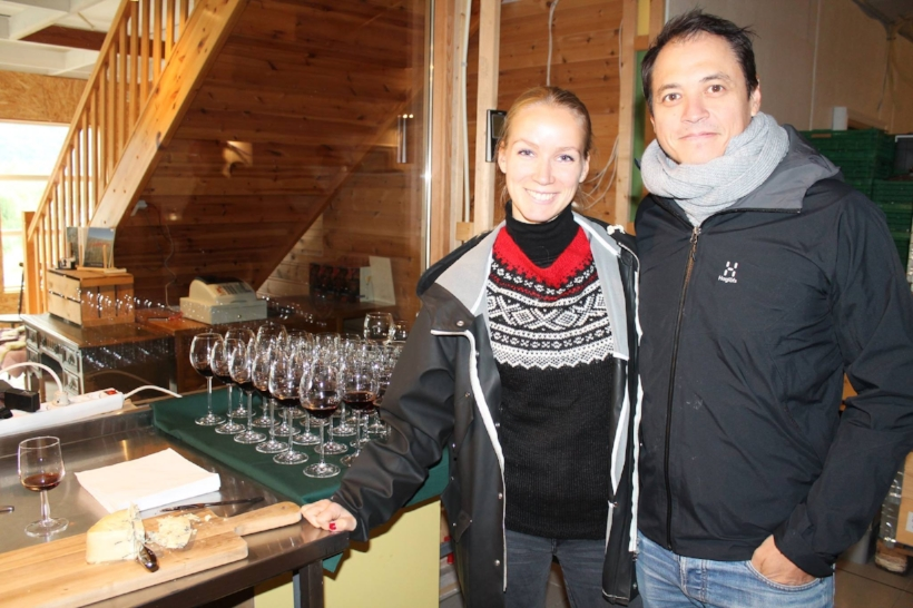 Ove Svendsen og Anniken England driv firmaet Puncheur. Foto: Ingerid W. Wembstad i Matarena