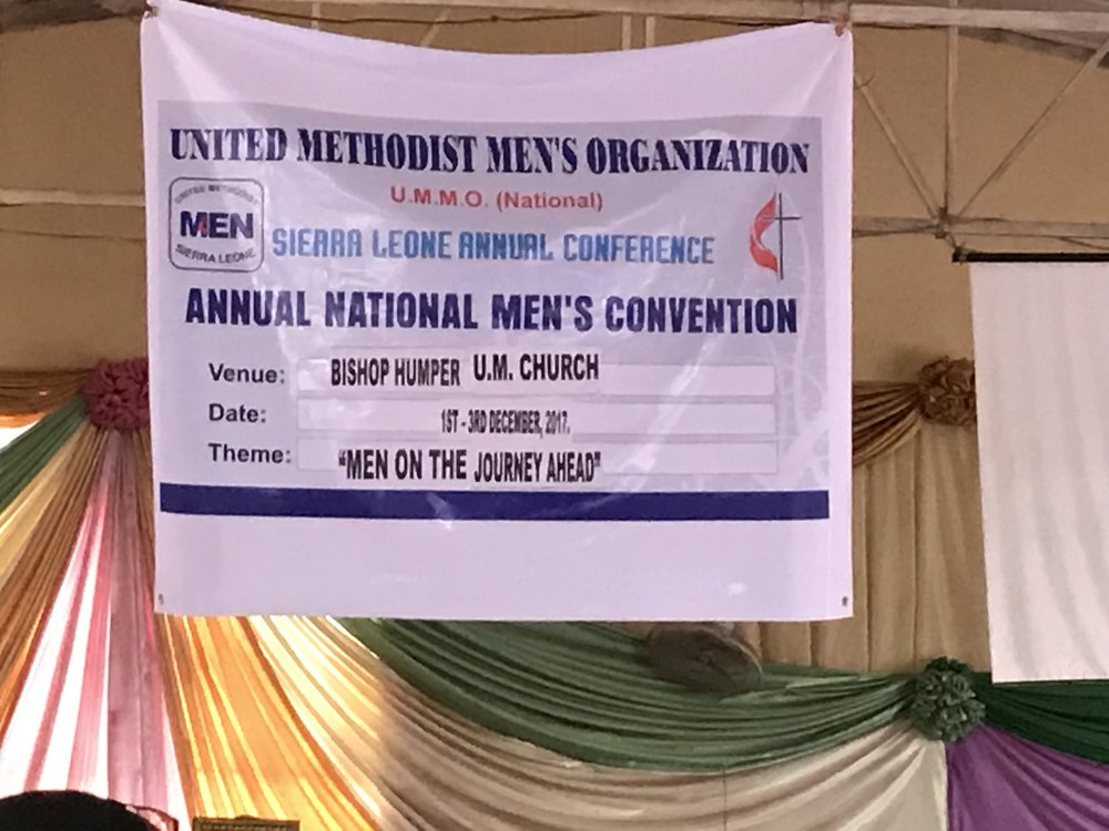 "The theme of the Men's Convention was ""Men on the Journey Ahead"""
