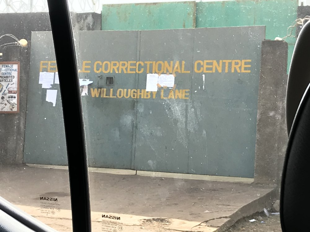 Female Correctional Center Gate, Freetown