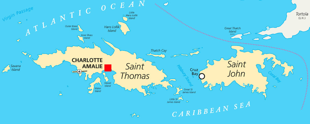 ladyj cruise destination st thomas mapjpg