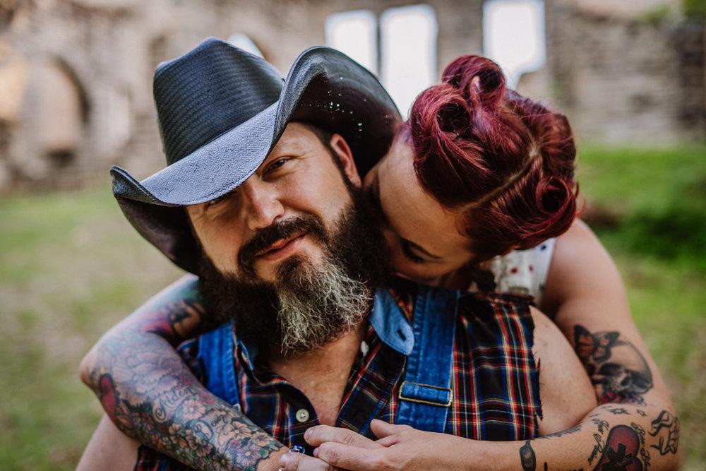Engage Couple at Ha Ha Tonka, Camdenton, Missouri