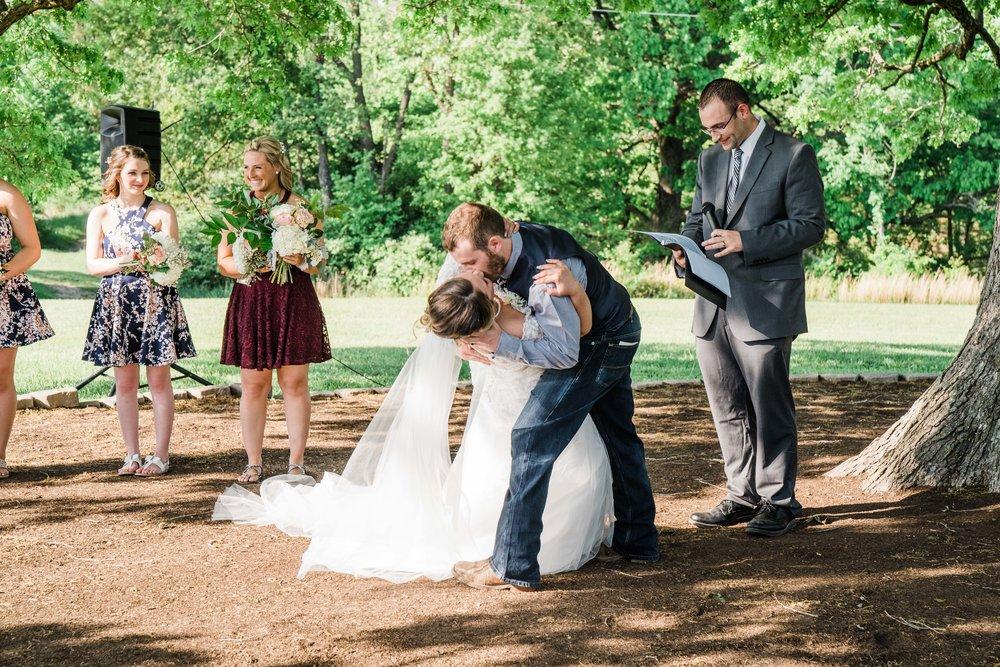First kiss as Mighty Lodge, Lebanon, Missouri