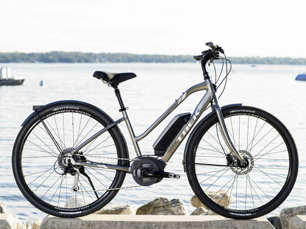 Trek Verve+ Low Step - Class 1 (Pedal assist only, up to 20mph)