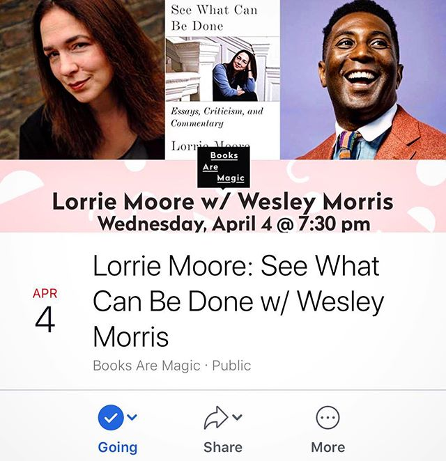 😳 Back at it tonight for this amazing event at @booksaremagicbk. Hope to see you there. . What will be Lorrie Moore's favorite sandwich? 🤔 🥪 . #booksaremagic #lorriemoore  #wesleymorris #seewhatcanbedone #thesignaturesandwich #book #sandwich #readbookseatsandwiches #read #whatsyourfavoritesandwich #food #eatasandwichandgetbacktowork  #wordsaregood #readabookinstead #booksofinstagram #bookstagram  #bookish #poetsandprosers