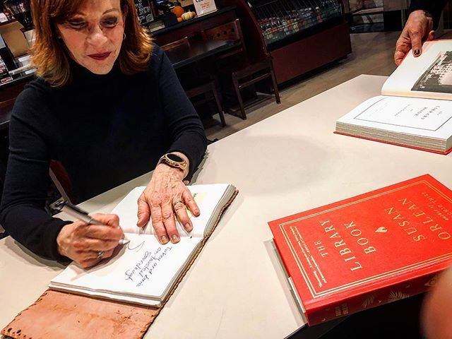 Last night, at the library, for the Kansas City launch of the The Library Book, the latest gift from Susan Orlean. Felt damn good to get back into the Signature Sandwich business! More to come friends. . Thank you so much, @susanorlean Looking forward to devouring the new book and your favorite sandwich 📖 🥪 . #susanorlean #thelibrarybook  #theorchidthief #kansascity #kc #kansascitypubliclibrarycentrallibrary  #missouri #read #wordsaregood  #readbookseatsandwiches #books #yourfavoritewriterstheirfavoritesandwiches  #bookstagram #booksofinstagram  #bread #meat #cheese #words  #poetsandprosers #readabookinstead