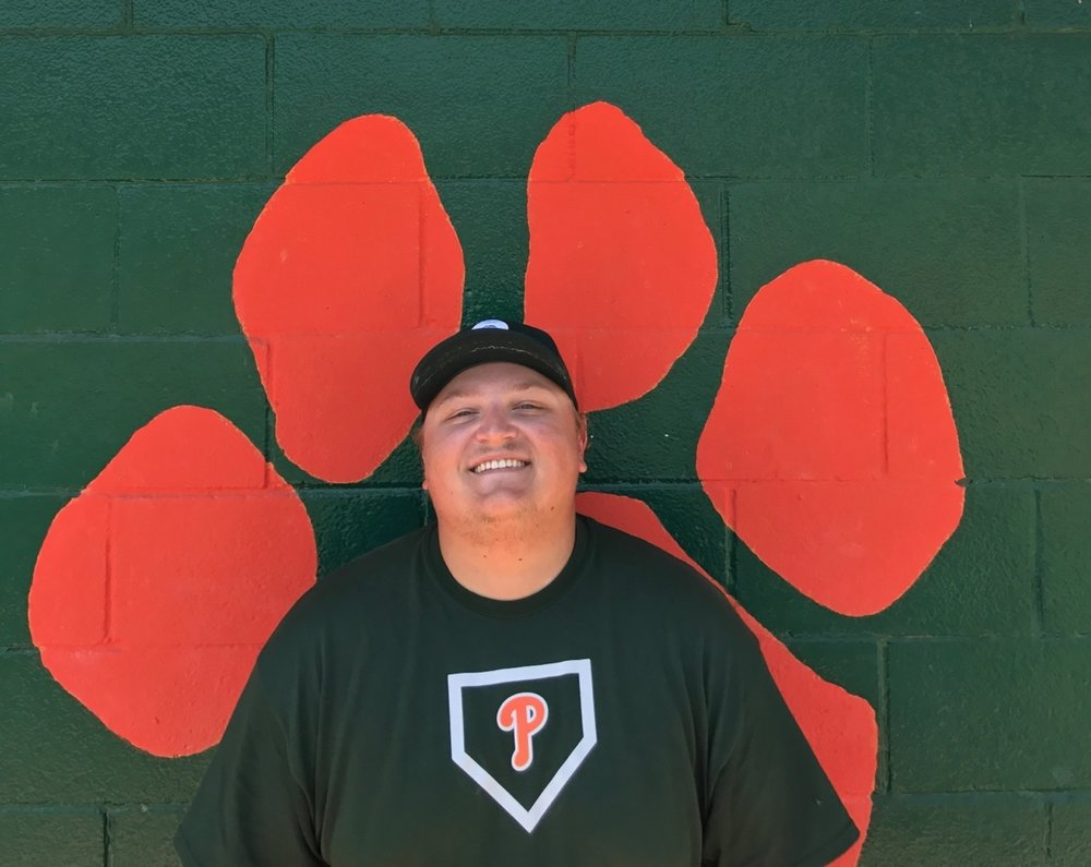 Brandon Fine Frosh/Soph Head Coach   Graduated from Cal Poly Pomona in 2015 with a BA in English Language and Literature. Starting with T-ball, Brandon played baseball for both Magnolia Center Little League and Victoria Pony and continued playing King High School.