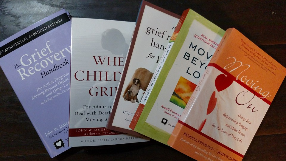 "Grief recovery method  For more information visit www.griefrecoverymethod.com ""The Guide for Loss: 61 Tips on the Experience of Grief and How to Help People Go Through It."""