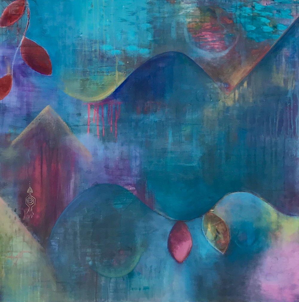 HIDDEN - Acrylic on Canvas