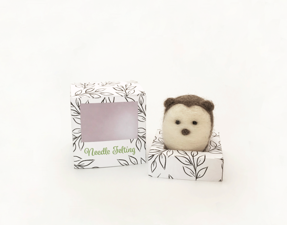 NEEDLE FELTED PACKAGING - Packaging Design
