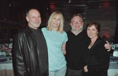 (L-R): Sam Goldstein, Sally Kellerman, Joe Byrne, and Cindy Prewitt.