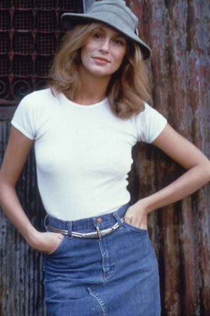 Lauren Hutton in 1974
