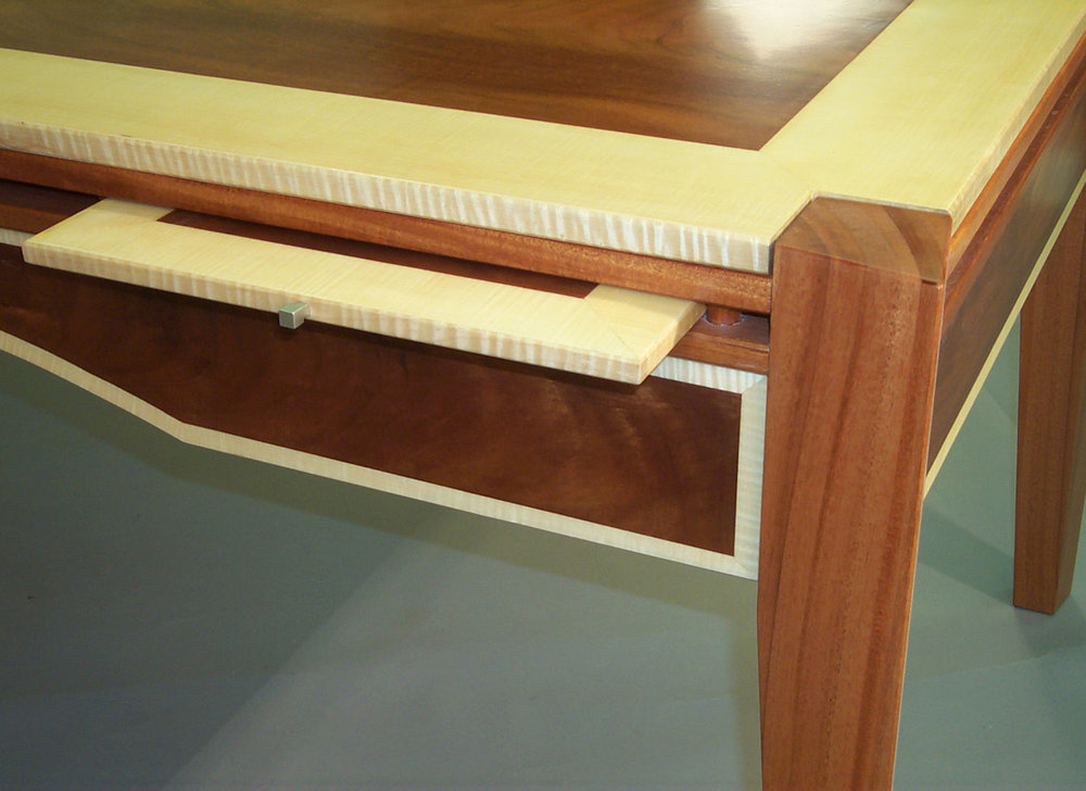 Fleming Partner's Desk, Pullout Detail
